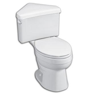 Corner Eljer Toilet