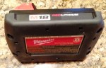 Milwaukee Cordless Impact Driver Battery