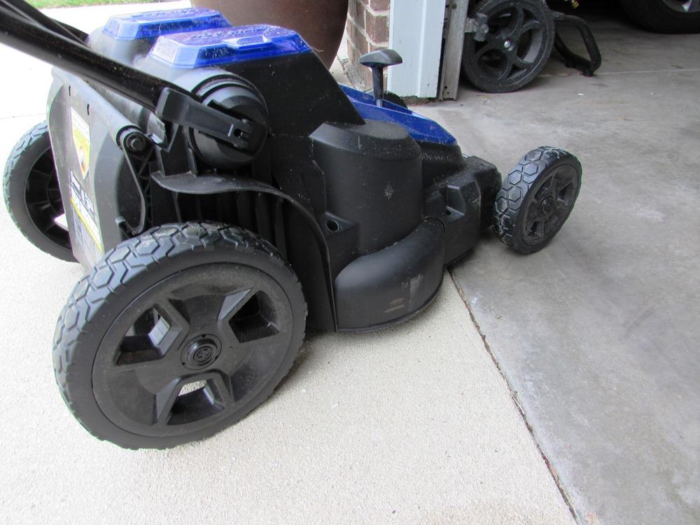 Large Rear Wheel Lawn Mower Kobalt Large Rear Wheels