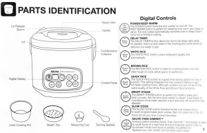Aroma Rice Cooker Features