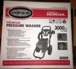 Costco Simpson Pressure Washer