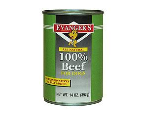 Dog Food Ratings - Evangers