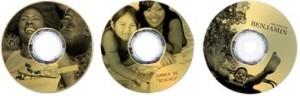 Lightscribe Laser-Etched Disk