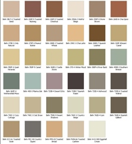 Behr Stain Colors