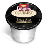 folgers dark silk k cups coffee