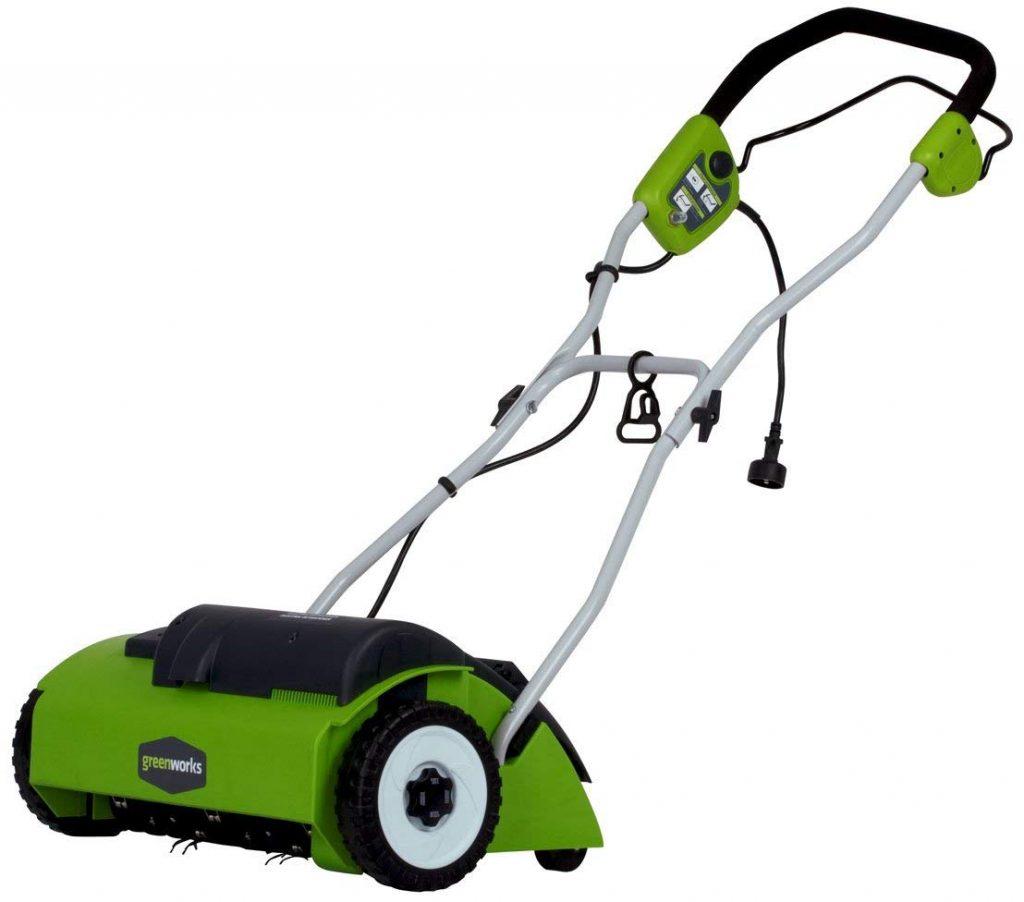 Greenworks Dethatcher